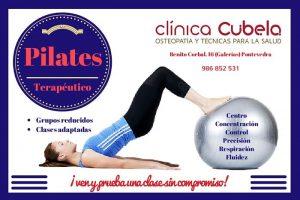 Clases de pilates en pontevedra @ Clinica cubela. clinica de fisioterapia y osteopatia en pontevedra
