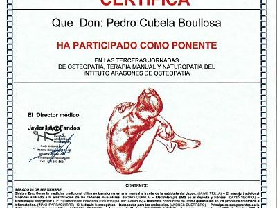 especializacion en osteopatia