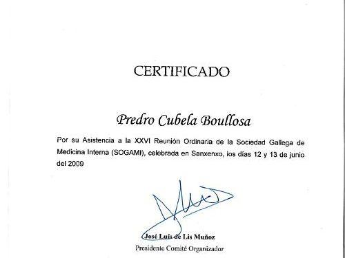 congreso de medicina interna en Pontevedra