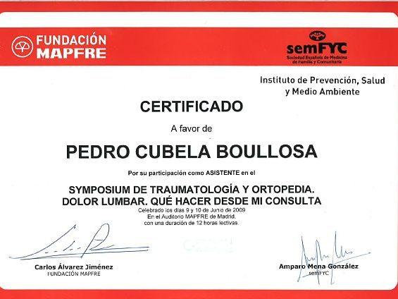 curso de traumatología mapfre