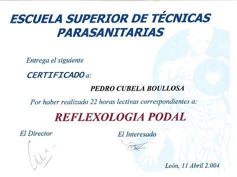reflexología podal en pontevedra